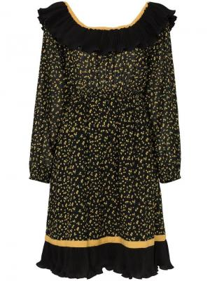 Платье Bardot с оборками byTiMo
