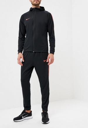 Костюм спортивный Nike Dry Squad Mens Football Tracksuit. Цвет: черный