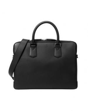 Деловые сумки LANCEL. Цвет: черный