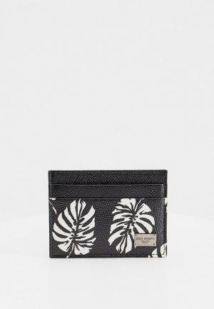 Кредитница Dolce&Gabbana. Цвет: черный