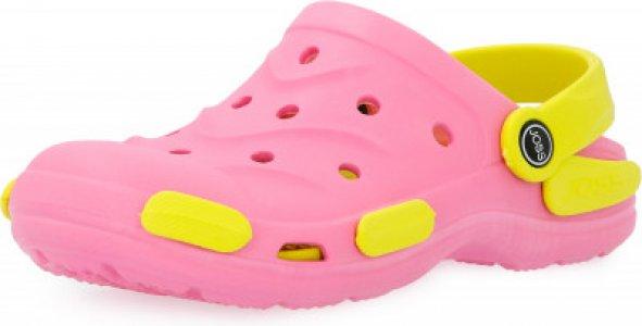 Шлепанцы для девочек Garden Shoes, размер 34-35 Joss. Цвет: розовый
