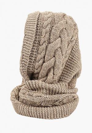 Снуд Forti knitwear Типпи. Цвет: коричневый