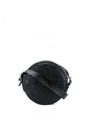 Круглая сумка Kalai Antik Batik. Цвет: черный