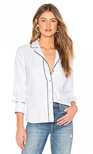 Рубашка pajama MCGUIRE. Цвет: нежно-голубой