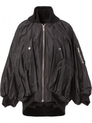Куртка-бомбер свободного кроя Undercover. Цвет: чёрный