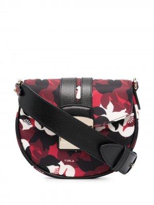 Мини-сумка через плечо Metropolis Toni Furla. Цвет: черный