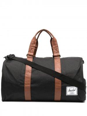 Большая дорожная сумка на молнии Herschel Supply Co.. Цвет: черный