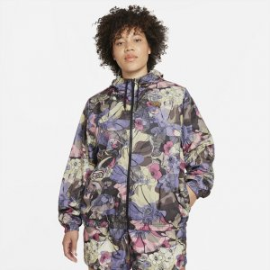 Женская куртка Sportswear Femme (большие размеры) - Черный Nike