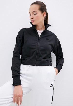 Олимпийка PUMA Infuse Track Jacket. Цвет: черный
