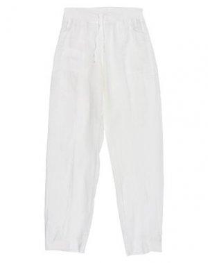 Повседневные брюки LIM. Цвет: белый