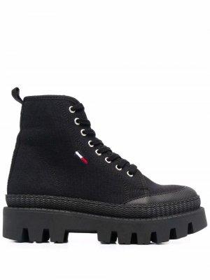 Ботинки с нашивкой-логотипом Tommy Jeans. Цвет: черный