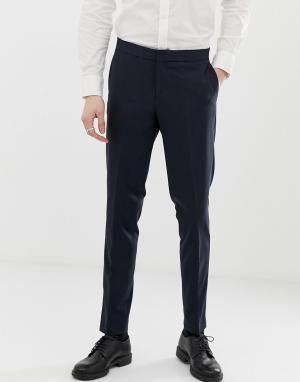 Темно-синие брюки -Темно-синий Lindbergh