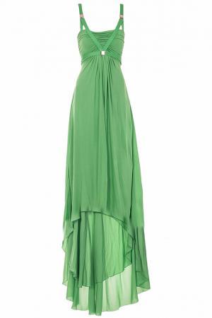 Платье Versace Collection. Цвет: зеленый