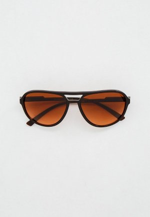 Очки солнцезащитные Dolce&Gabbana DG6150 329578. Цвет: коричневый