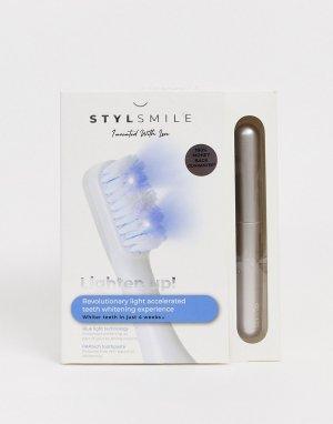 Набор для ускоренного отбеливания зубов с лампой синего цвета STYLSMILE-Бесцветный StylPro