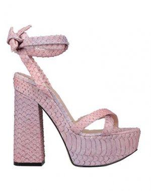 Сандалии HTC. Цвет: розовый