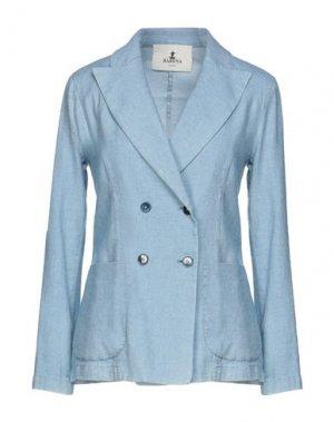 Пиджак BARENA. Цвет: небесно-голубой