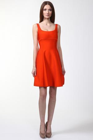 Платье Herve L.Leroux. Цвет: оранжевый