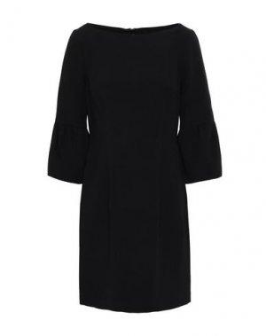 Короткое платье BLACK HALO. Цвет: черный