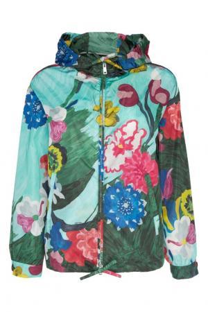 Ветровка с принтом Prada. Цвет: multicolor