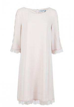 Платье BLUMARINE. Цвет: бежевый