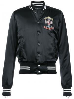 Куртка Guns n Roses Amiri. Цвет: чёрный