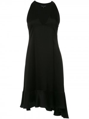 A-line midi dress Gloria Coelho. Цвет: черный