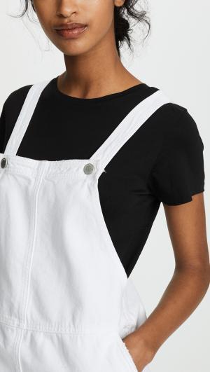 Overall Mini Dress Blank Denim