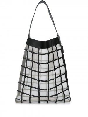 Большая сумка-тоут Billie 3.1 Phillip Lim. Цвет: черный