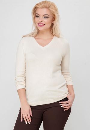 Пуловер Limonti. Цвет: бежевый