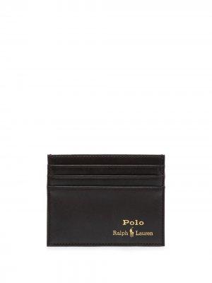 Картхолдер Suffolk Polo Ralph Lauren. Цвет: коричневый