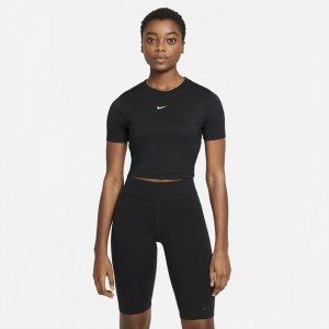Женский укороченный топ Sportswear Essential - Черный Nike