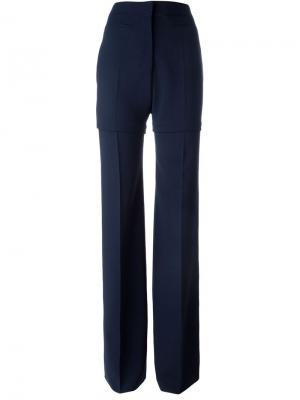 Широкие брюки Calvin Klein. Цвет: синий