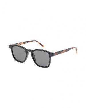 Солнечные очки RETROSUPERFUTURE. Цвет: черный