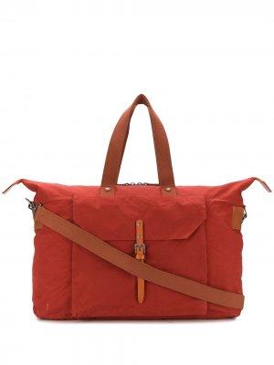 Дорожная сумка Freddie Ally Capellino. Цвет: красный