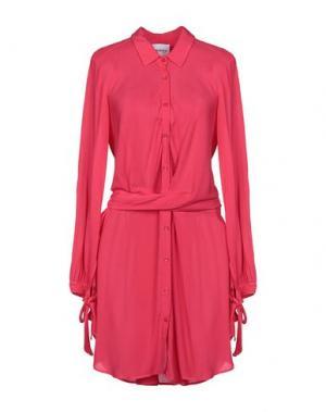 Короткое платье ANNARITA N TWENTY 4H. Цвет: фуксия