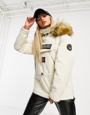 Белая куртка Napapijri
