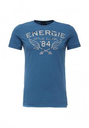 Футболка Energie. Цвет: синий