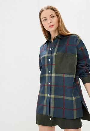Рубашка Elena Andriadi. Цвет: зеленый