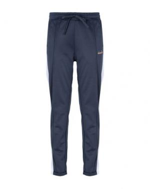 Повседневные брюки DIADORA. Цвет: серый