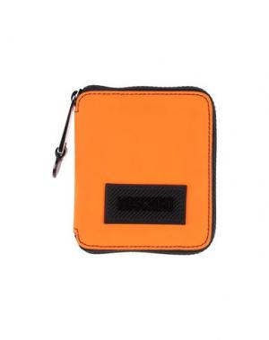 Бумажник MOSCHINO. Цвет: оранжевый